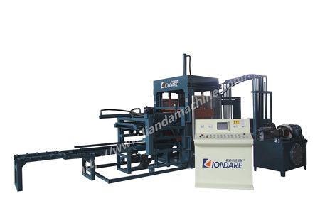 HTP500-3全自动彩色路面透水砖机